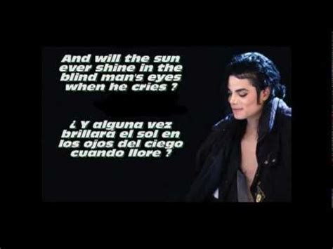 Michael Jackson - Cry (Letra - traducido al español) - YouTube