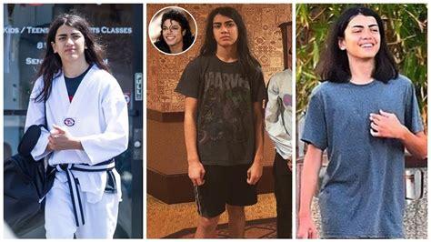 Michael Jackson's Son Blanket Jackson (Bigi Jackson ...