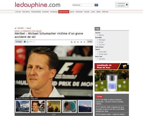 Michael Schumacher está em coma após acidente de esqui na ...