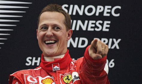 Michael Schumacher is 'sending signals from distant world ...