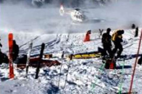 Michael Schumacher ski accident: Watch the dramatic moment ...