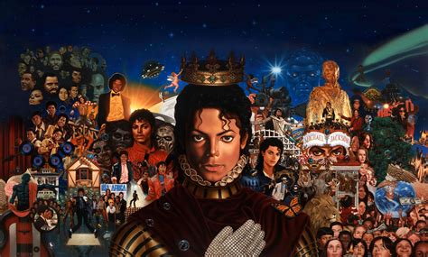 Michael the album images all mj's albums in one picture HD ...