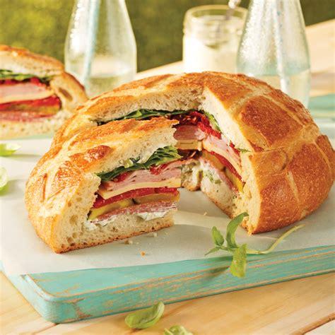 Miche de pain sandwich - Recettes - Cuisine et nutrition ...