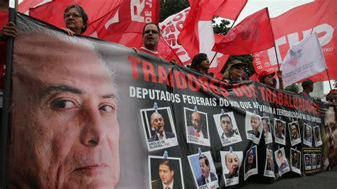 Michel Temer sustituye al ministro de Justicia en plena ...