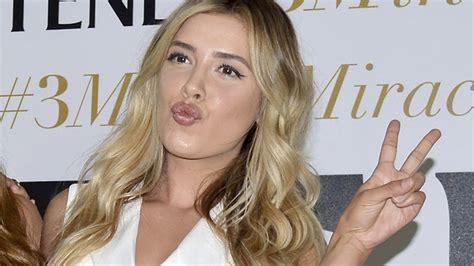 Michelle Salas, hija de Luis Miguel, es chica champú ...