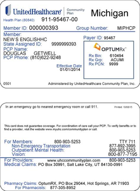 Michigan   UnitedHealthcare® Community Plan   Claims and ...