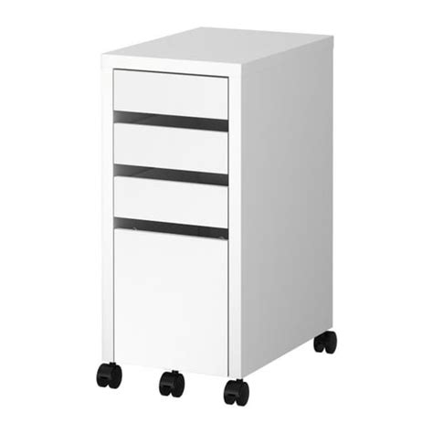 MICKE Drawer unit/drop file storage - white - IKEA