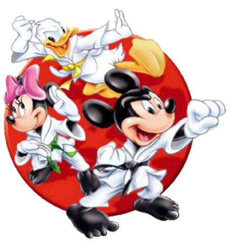 Mickey, Minnie & Donald Karate | Disney Toes | Pinterest ...