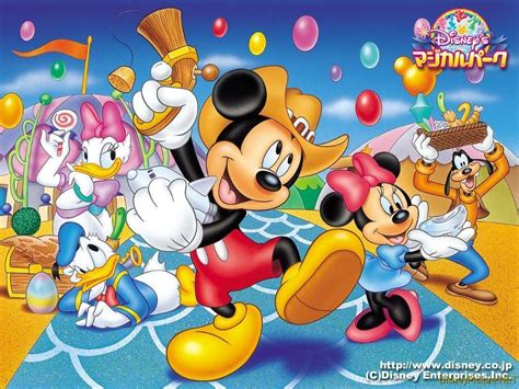 Mickey Mouse and Friends Wallpaper   Disney Wallpaper ...