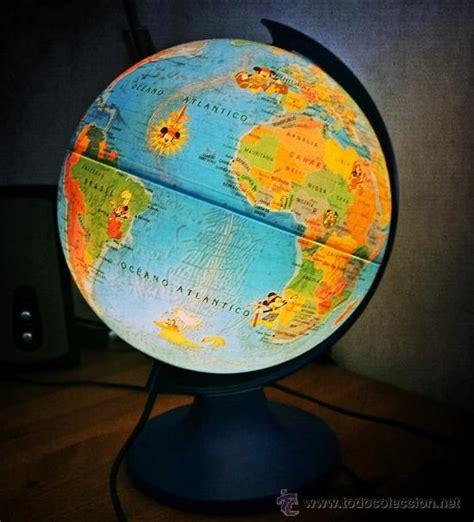 mickey's world tour - bola del mundo con luz - - Comprar ...