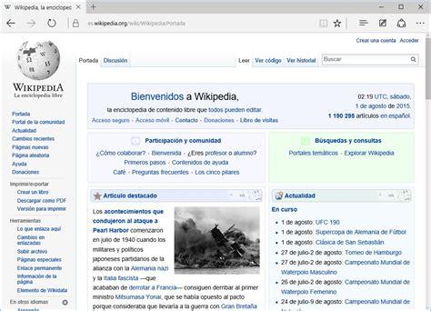 Microsoft Edge - Wikipedia, la enciclopedia libre
