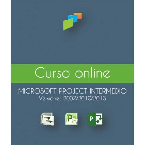 Microsoft® Project® intermedio en línea