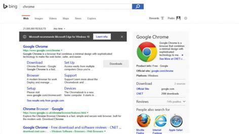 Microsoft quer impôr o Edge nas pesquisas feitas no Bing