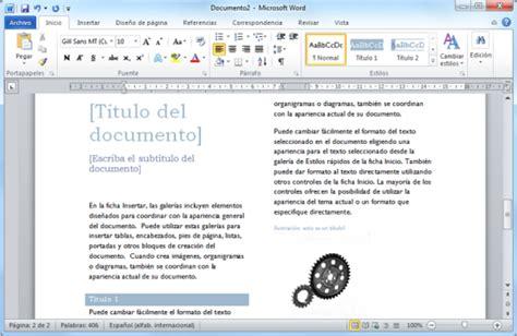 MICROSOFT WORD 2010 ~ FRANK AL DÍA