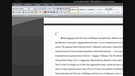 Microsoft Word: Different Headers on Each Page - YouTube