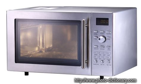 microwave oven - photo/picture definition at Photo ...