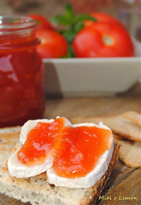 Miel o Limón: Confitura de Tomate