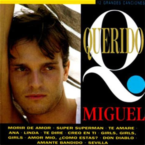 Miguel Bosé | Discografía de Miguel Bosé con discos de ...