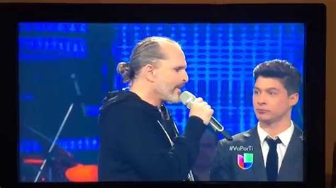 Miguel Bosé- Te Amaré Mexican TV (By A Real Fan) - YouTube