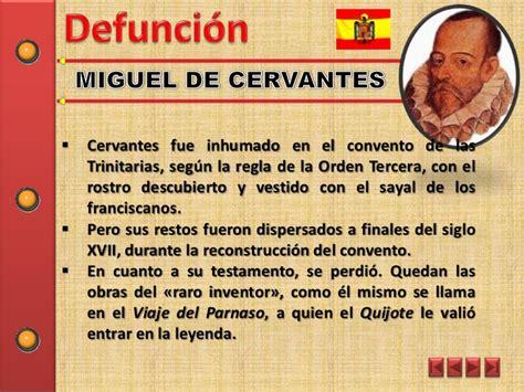 Miguel de Cervantes y Alfredo Espino