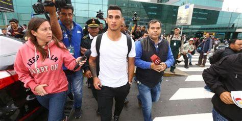 Miguel Trauco llegó a Lima para sumarse a la Selección ...