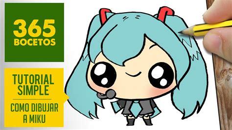 Miku - Anime ♥   365Bocetos   Pinterest   Dibujos kawaii ...