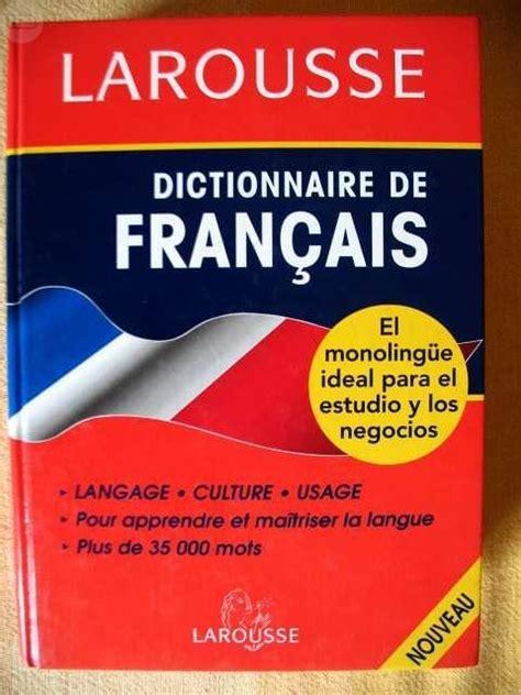 MIL ANUNCIOS.COM - Diccionario francés monolingüe Larousse