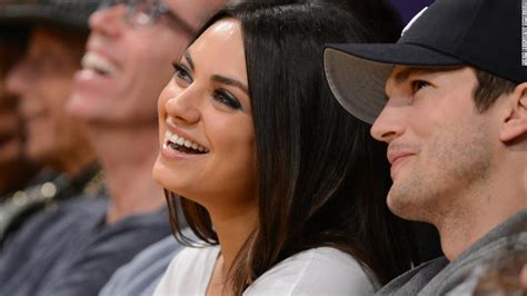 Mila Kunis and Ashton Kutcher: A love story   CNN