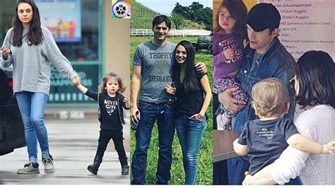 Mila Kunis and Ashton Kutcher s kids   2017   YouTube
