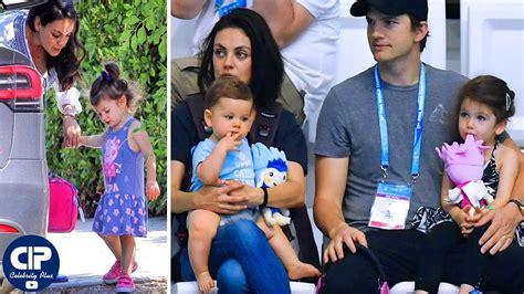 Mila Kunis & Ashton Kutcher s Son & Daughter 2018   Wyatt ...
