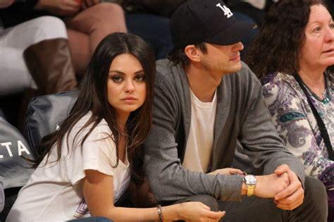 Mila Kunis y Ashton Kutcher, al estilo español   Chic