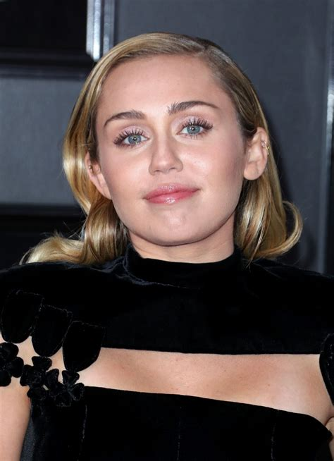 MILEY CYRUS at Grammy 2018 Awards in New York 01/28/2018 ...