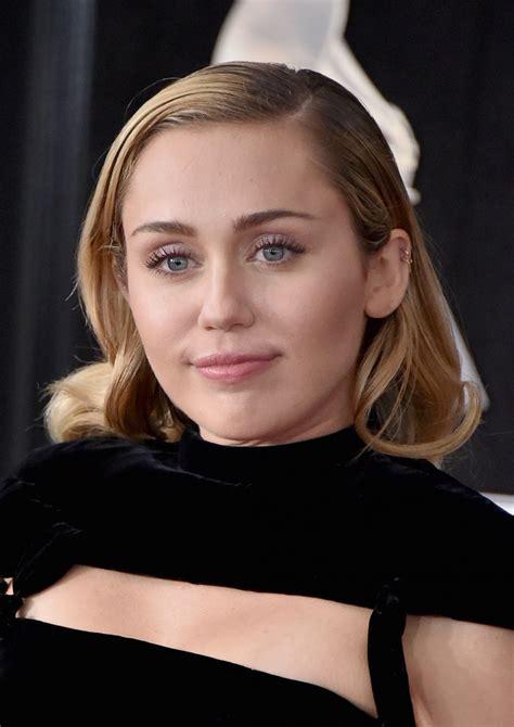 Miley Cyrus – #MileyCyrus 2018 Grammy Awards in New York