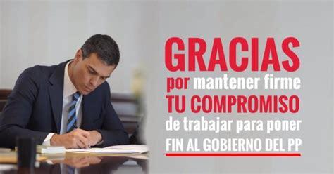 Militantes y simpatizantes del PSOE: Apoyo a Pedro Sánchez