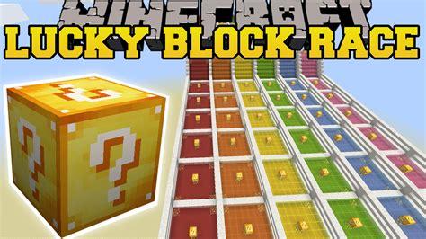 Minecraft: INSANE LUCKY BLOCK RACE - Lucky Block Mod ...