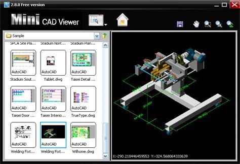 Mini CAD Viewer   Descargar Gratis