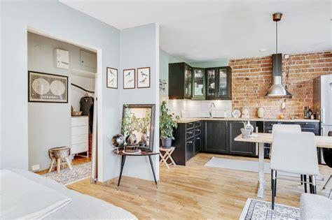 Mini cocina con ladrillo visto para 39m2. – Interiores ...