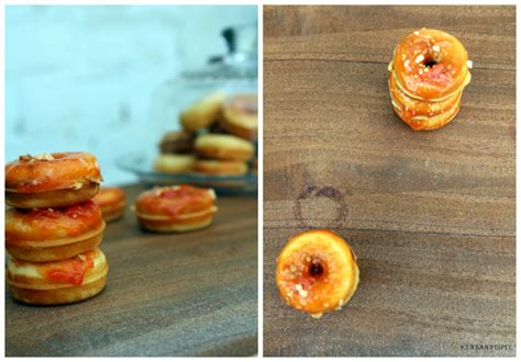 Mini donuts de zanahorias | KidsandChic