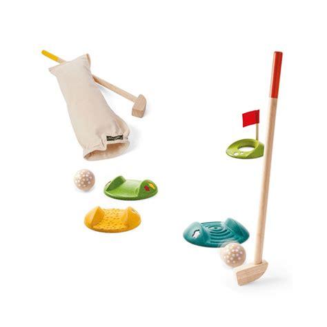 Mini Golf de madera Plantoys- Set para 2 jugadores ...