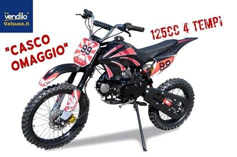 Mini moto cross PitBike 125cc + Casco... a Avigliana ...