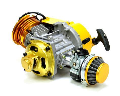 Mini Moto, Quad, Motard, Dirt Bike 50cc Race Engine Gold