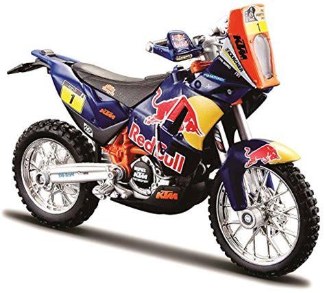 Miniatura Moto KTM 450 Red Bull DAKAR RALLY - En Ruta