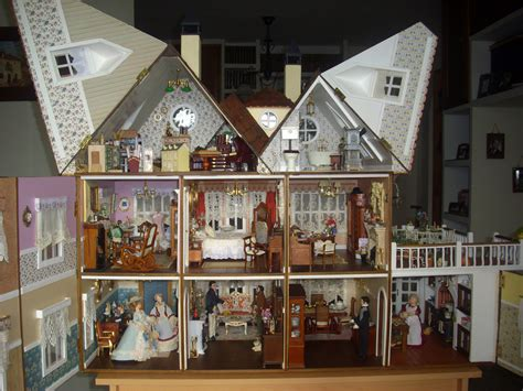Miniaturas y materiales de construcción casa de muñecas