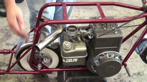 Minibike motor rebuild test Ruttman   YouTube