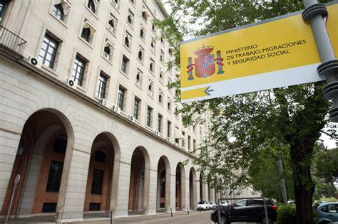 Ministerio de Trabajo, Migraciones y Seguridad Social ...