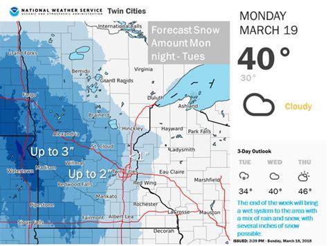 Minnesota Weather: Winter Returns This Week | Southwest ...
