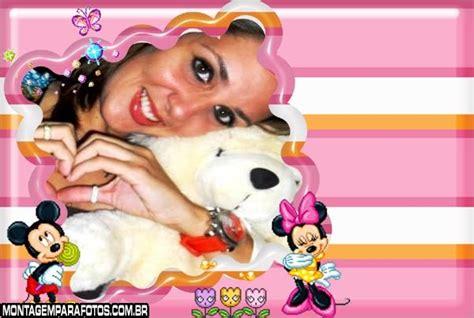 Minnie e Mickey Moldura para Fotos | Montagem para Fotos