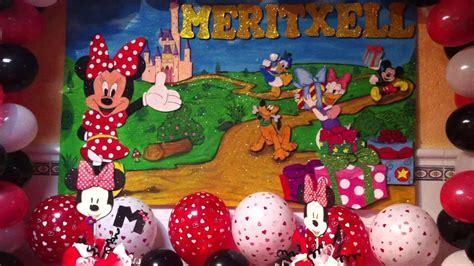 minnie mouse cumpleaños 1 año meritxell   YouTube