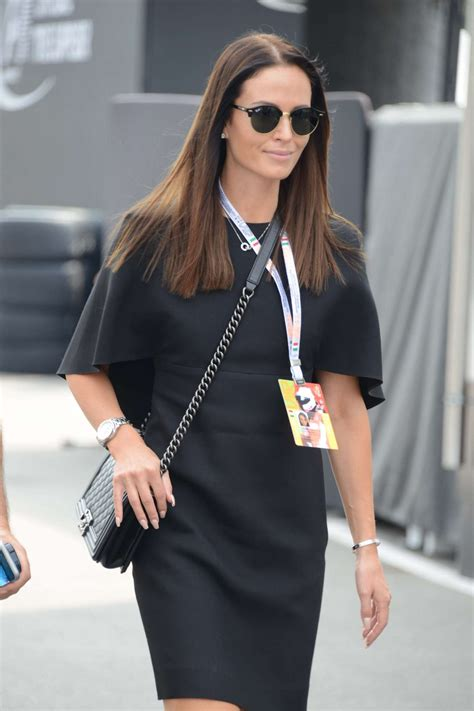Minttu Virtanen at F1 Grand Prix in Monza
