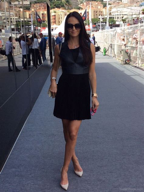 Minttu Virtanen In Black Outfit | Super WAGS   Hottest ...